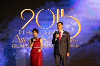 2015 Industry Awards Ceremony David & Becky Zuhai RemaxWorld Expo